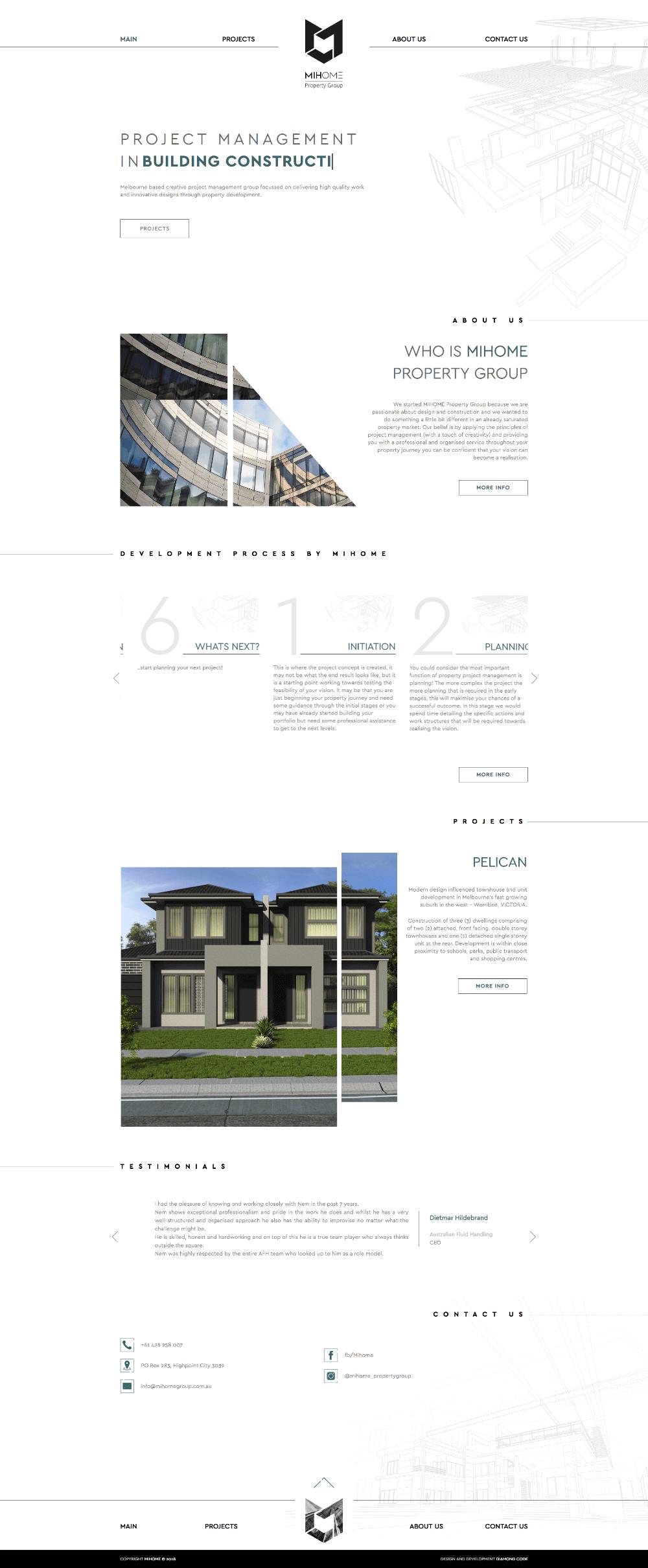 MIHOME Website