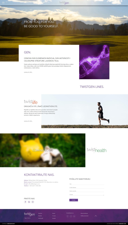 Twistgen Website